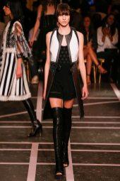 Lida Fox - Givenchy Spring 2015
