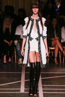 Vanessa Moody - Givenchy Spring 2015