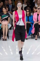 Sasha Dmitrieva - Christian Dior Spring 2015