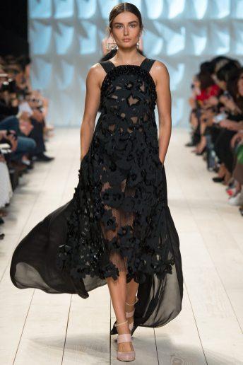 Andreea Diaconu - Nina Ricci Spring 2015