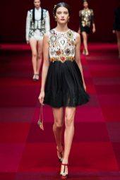 Diana Moldovan - Dolce & Gabbana Spring 2015 Koleksiyonu