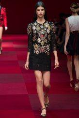Antonina Petkovic - Dolce & Gabbana Spring 2015 Koleksiyonu