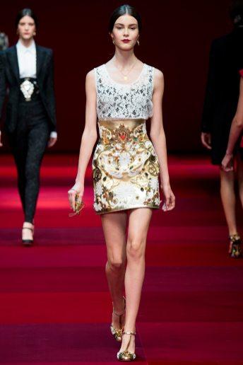 Irina Shnitman - Dolce & Gabbana Spring 2015 Koleksiyonu