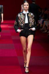 Vasilisa Pavlova - Dolce & Gabbana Spring 2015 Koleksiyonu