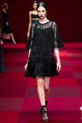 Larissa Marchiori - Dolce & Gabbana Spring 2015 Koleksiyonu