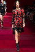 Anastasija Titko - Dolce & Gabbana Spring 2015 Koleksiyonu