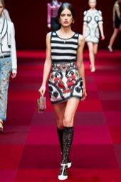 Taja Feistner - Dolce & Gabbana Spring 2015 Koleksiyonu