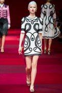 Ola Rudnicka - Dolce & Gabbana Spring 2015 Koleksiyonu