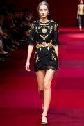 Maartje Verhoef - Dolce & Gabbana Spring 2015 Koleksiyonu