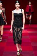 Katlin Aas - Dolce & Gabbana Spring 2015 Koleksiyonu