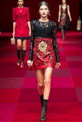 Valery Kaufman - Dolce & Gabbana Spring 2015 Koleksiyonu