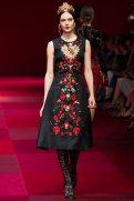 Kinga Rajzak - Dolce & Gabbana Spring 2015 Koleksiyonu