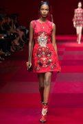 Leila Nda - Dolce & Gabbana Spring 2015 Koleksiyonu