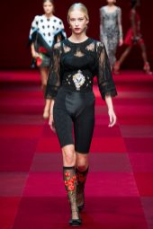 Eva Berzina - Dolce & Gabbana Spring 2015 Koleksiyonu