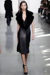 Yasmin Wijnaldum - Calvin Klein Collection Fall 2016 Ready to Wear