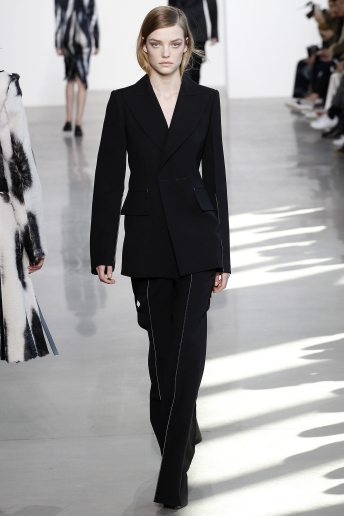 Roos Abels - Calvin Klein Collection Fall 2016 Ready to Wear