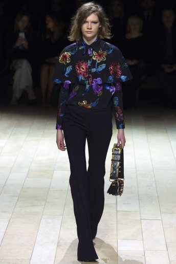 Marland Backus - Burberry Fall 2016 Ready-to-Wear