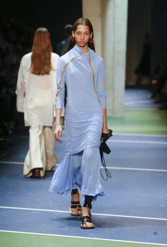 Yasmin Wijnaldum - Céline Fall 2016 Ready-to-Wear