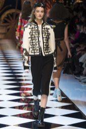 Maartje Verhoef - Dolce & Gabbana Fall 2016 Ready-to-Wear