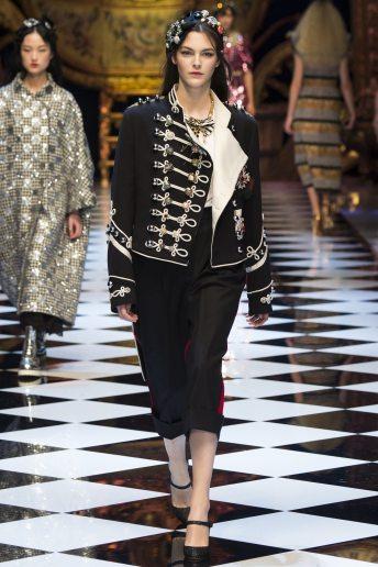 Vittorio Ceretti - Dolce & Gabbana Fall 2016 Ready-to-Wear