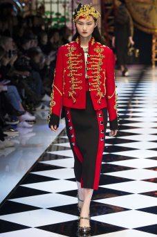 Cong He - Dolce & Gabbana Fall 2016 Ready-to-Wear