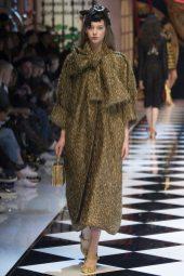 Lauren de Graaf - Dolce & Gabbana Fall 2016 Ready-to-Wear