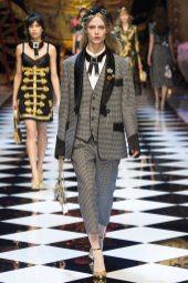 Sofie Hemmet - Dolce & Gabbana Fall 2016 Ready-to-Wear
