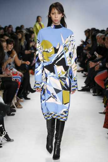 Issa Lish - Emilio Pucci Fall 2016 Ready-to-Wear