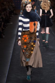 Greta Varlese - Fendi Fall 2016 Ready-to-Wear