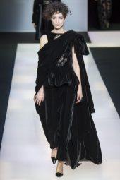 Janice Alida - Giorgio Armani Fall 2016 Ready-to-Wear