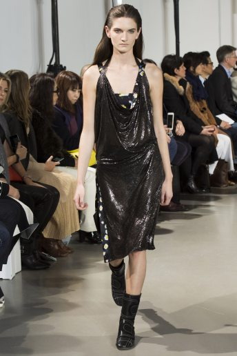 Carly Moore - Paco Rabanne Fall 2016 Ready-to-Wear
