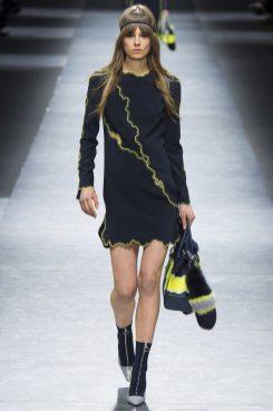 Caroline Brasch Nielsen - Versace Fall 2016 Ready-to-Wear