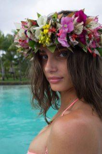 Victoria's Secret'tan plaj fotoğrafları
