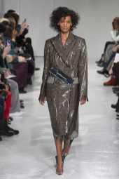 Liya Kebede - Calvin Klein Fall 2017 Ready-to-Wear