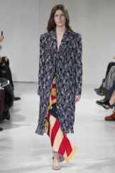 Tessa Bruinsma - Calvin Klein Fall 2017 Ready-to-Wear