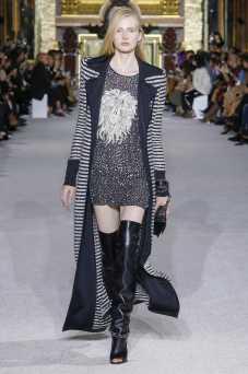 Leah Rodl - Balmain - Spring 2018 Ready-to-Wear