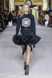 Chane Husselmann - Balmain - Spring 2018 Ready-to-Wear