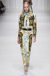 Jessie Bloemendaal - Versace Spring 2018 Ready-to-Wear