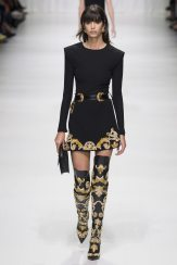 Mica Arganaraz - Versace Spring 2018 Ready-to-Wear