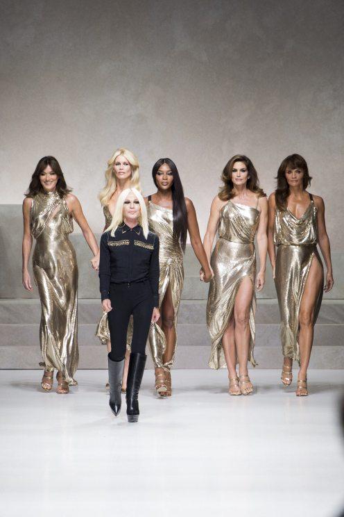 Donatella Versace - Versace Spring 2018 Ready-to-Wear