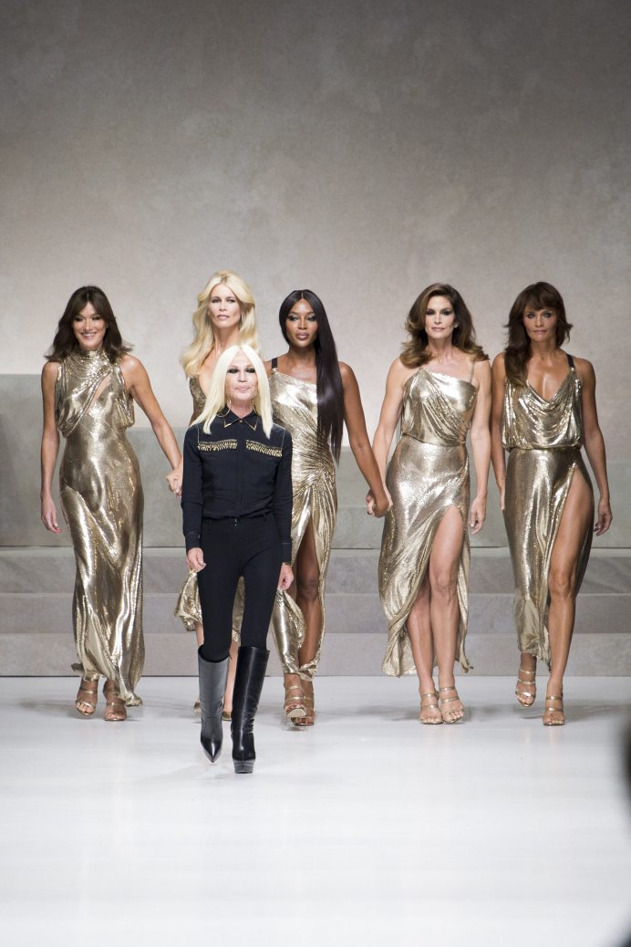 Donatella Versace - Versace Spring 2018 Ready-to-Wear
