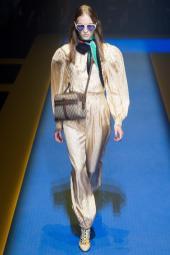 Kasia Oskard - Gucci Spring 2018 Ready-to-Wear