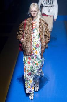 Unia Pakhomova - Gucci Spring 2018 Ready-to-Wear