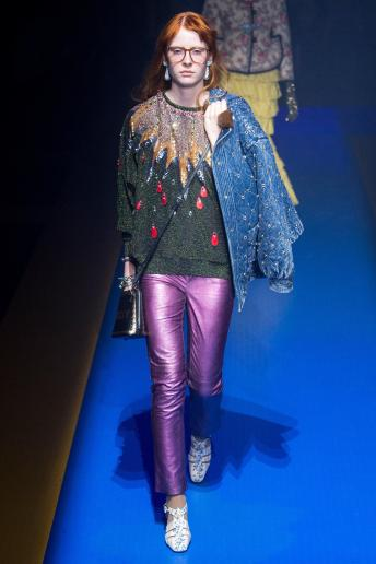 Julia Mertin - Gucci Spring 2018 Ready-to-Wear