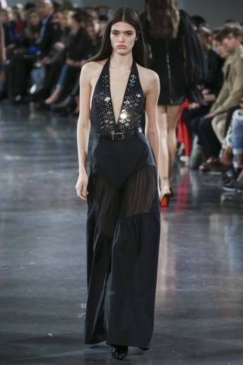 Alexandra Micu - Mugler Spring 2018 Ready-to-Wear