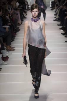 Ola Dutka - Armani Privé Spring 2018 Couture