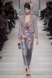 Darya Kostenich - Armani Privé Spring 2018 Couture