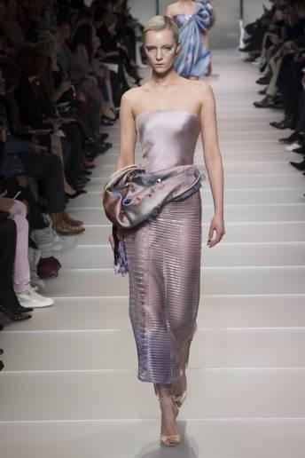Irina Liss - Armani Privé Spring 2018 Couture