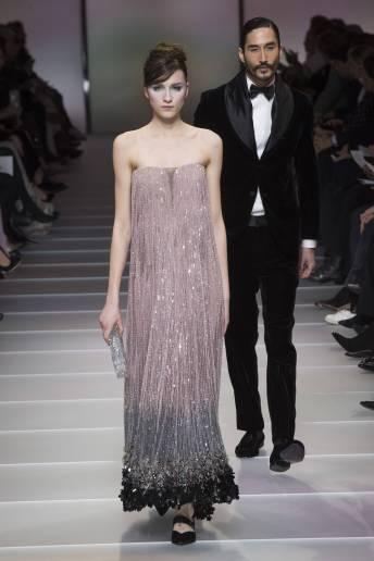 Irina Djuranovic - Armani Privé Spring 2018 Couture