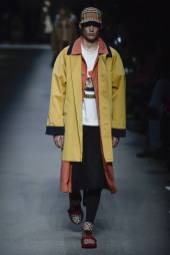 Kaito Defoort - Burberry Spring 2018 Ready-to-Wear